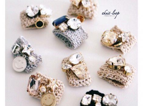 松屋銀座 knit-ring ワークショップ 間も無く予約開始