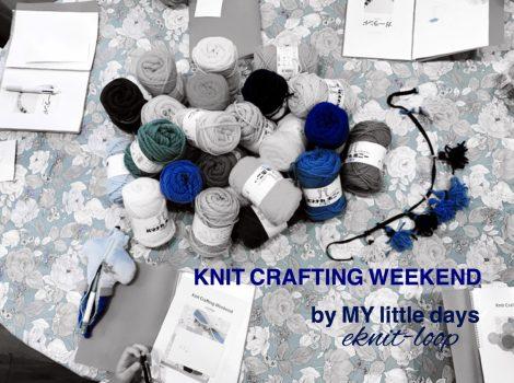 knit crafting weekend