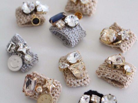 〜knit-ring レッスン〜@チェルシーフラワーズ