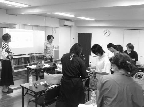 eknit-loopデザインコース1日目 インスタ講座