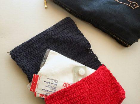 cotton素材のknit porch