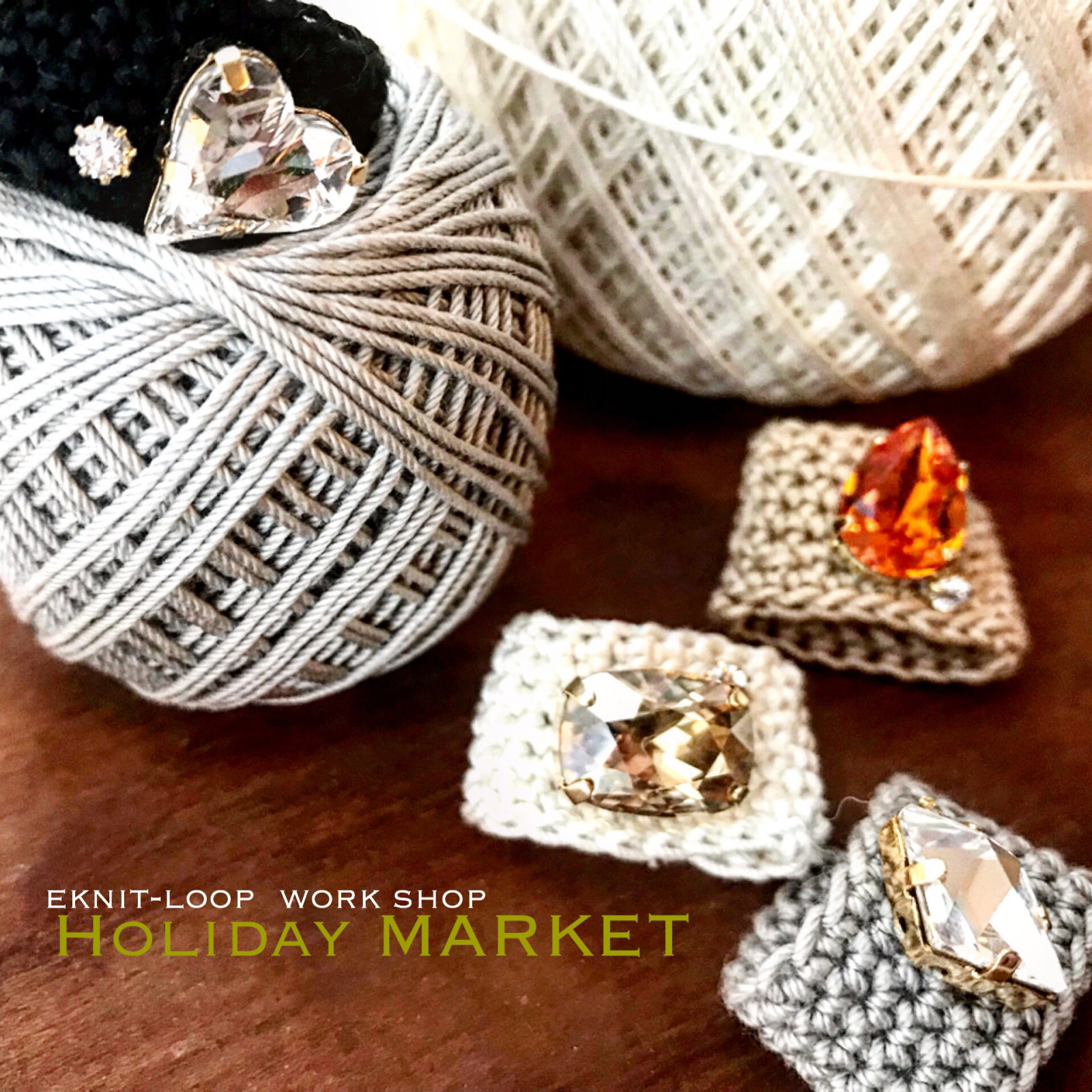 HOLIDAY MARKET @mamanote workshop