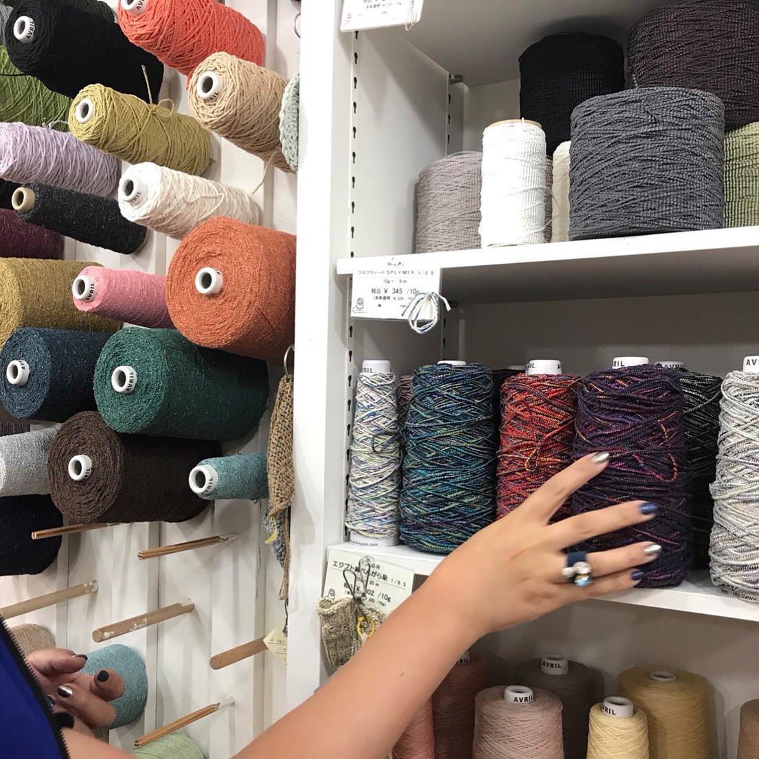 編み物に欠かせない毛糸選び