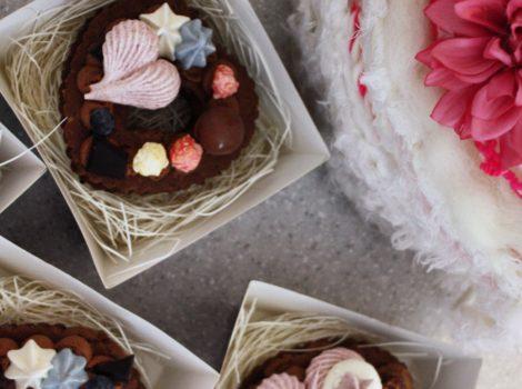 バレンタインニットケーキキッズワークショップ終了しました。
