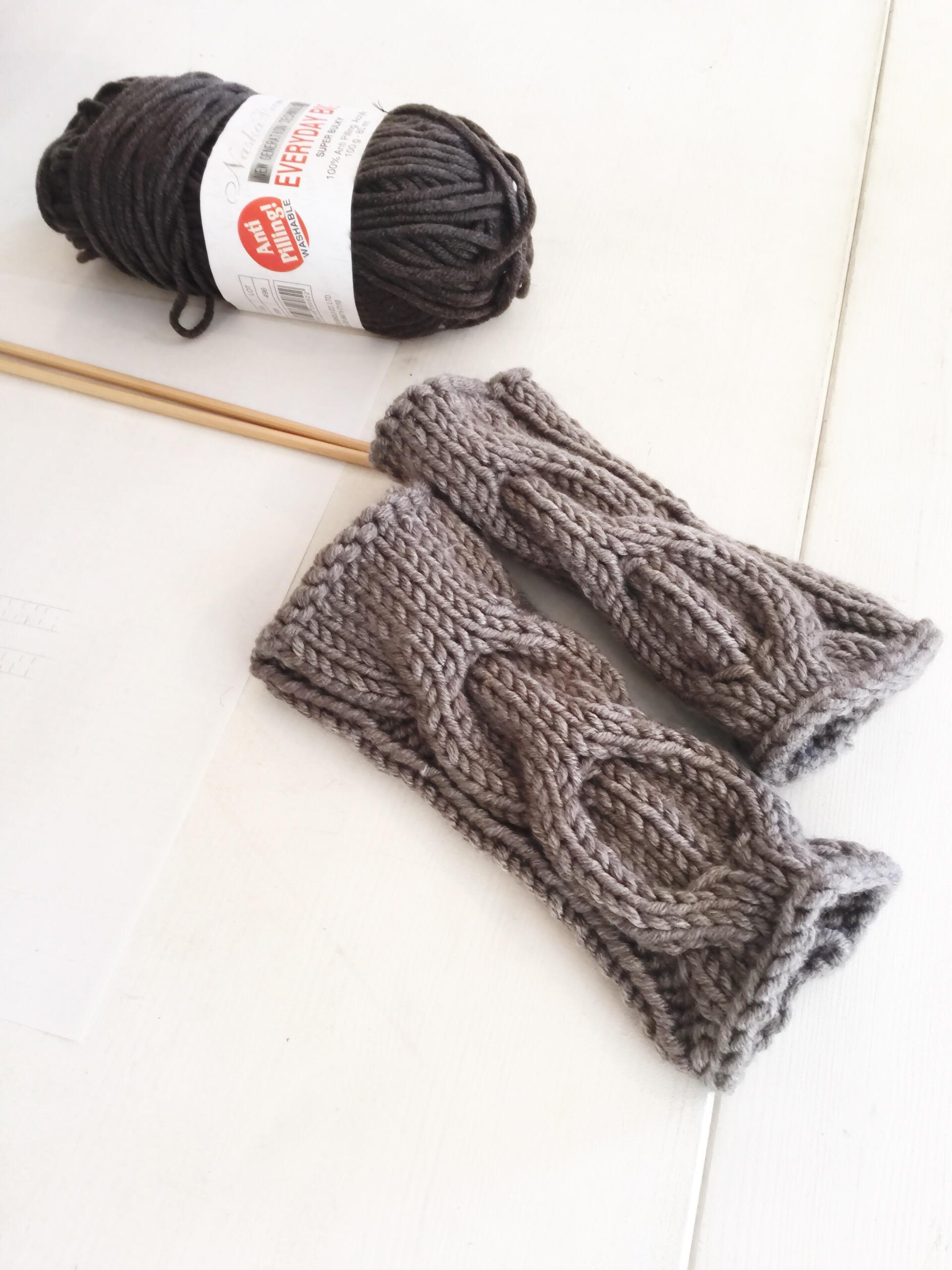 1月のワークショップ棒編みクラス募集スタート アームウォーマーを編みましょう