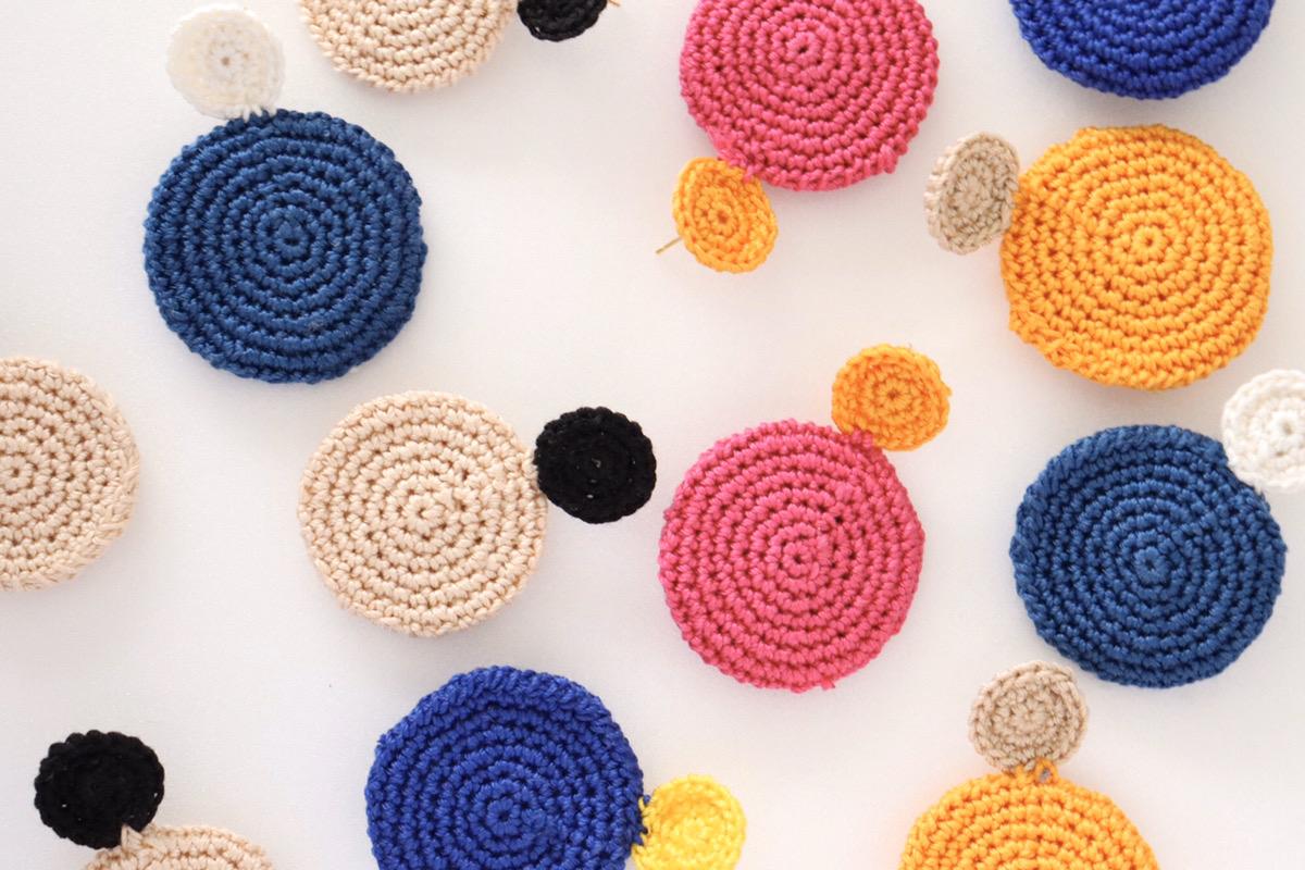 Round knit pierce