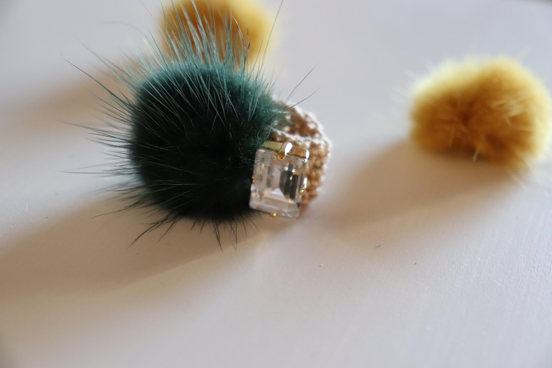 「marimo 」knit-ring®